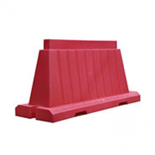 Разделительный дорожный блок водоналивной вкладной 1500 мм