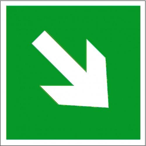 Знак Фотолюминесцентный E02-02, ГОСТ