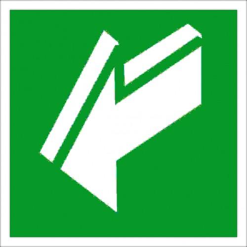 Знак Фотолюминесцентный E19, ГОСТ