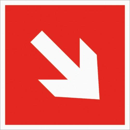 Знак Фотолюминесцентный F01-02, ГОСТ