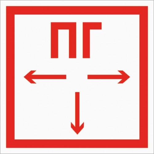 Знак Фотолюминесцентный F09, ГОСТ