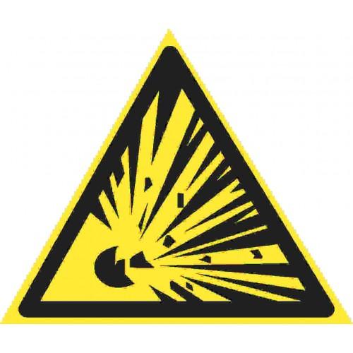 Знак фотолюминесцентный W02, ГОСТ