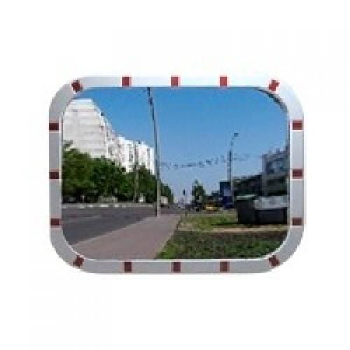 Зеркало уличное Detex Line 600x800 мм, со светоотражателями