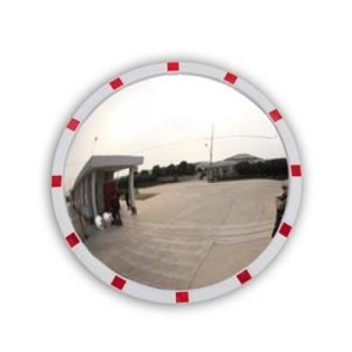 Зеркало уличное Detex Line, 630 мм, со светоотражателями