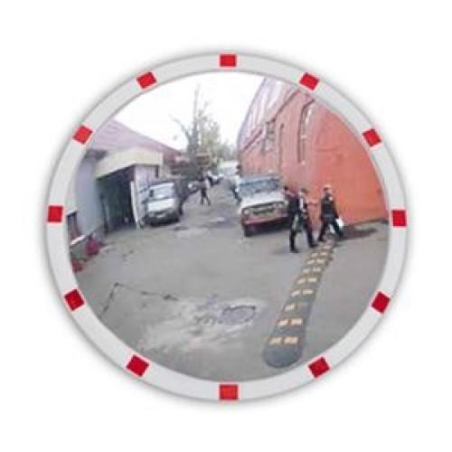 Зеркало уличное Detex Line, 950 мм, со светоотражателями