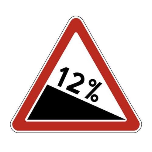 Дорожный знак 1.13 - Крутой спуск