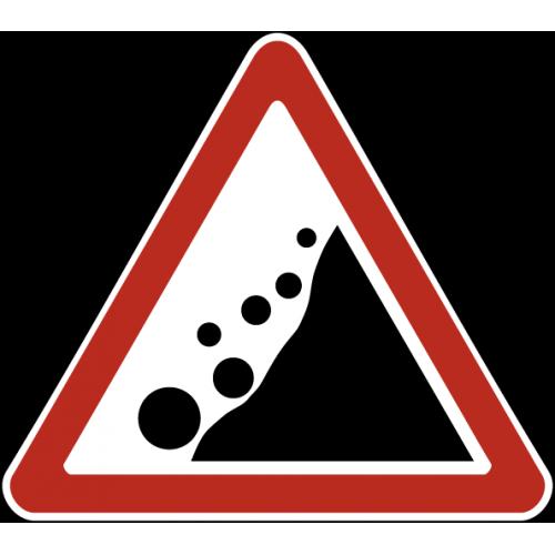 Дорожный знак 1.28 - Падение камней