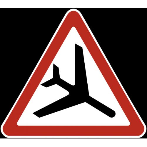Дорожный знак 1.30 - Низколетящие самолеты