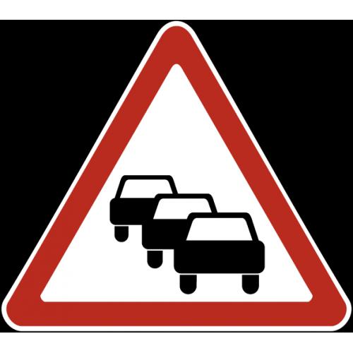 Дорожный знак 1.32 - Затор