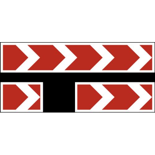 Дорожный знак 1.34.1 - Направление поворота
