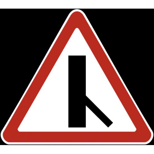 Дорожный знак 2.3.6 - Примыкание второстепенной дороги