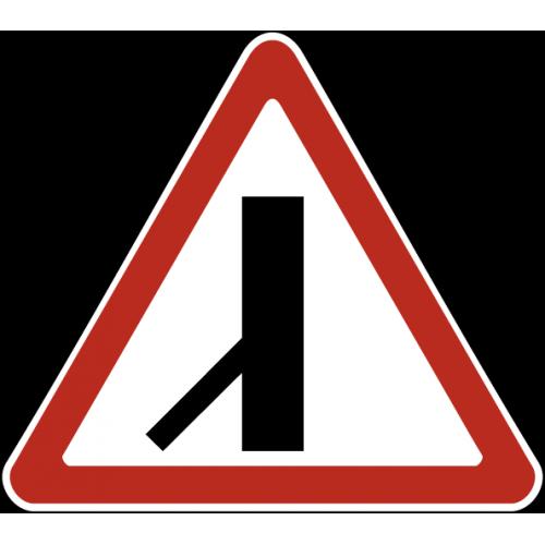 Дорожный знак 2.3.7 - Примыкание второстепенной дороги
