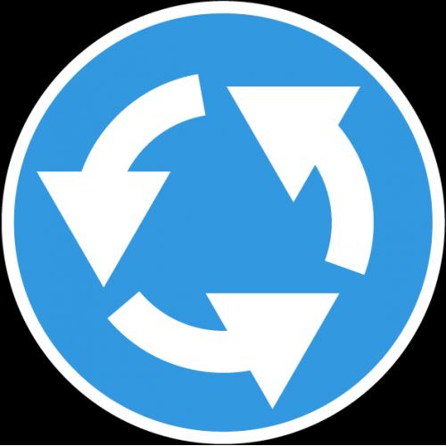 Дорожный знак 4.3 - Круговое движение