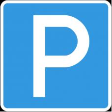 Дорожный знак 6.4 - Парковка (парковочное место)
