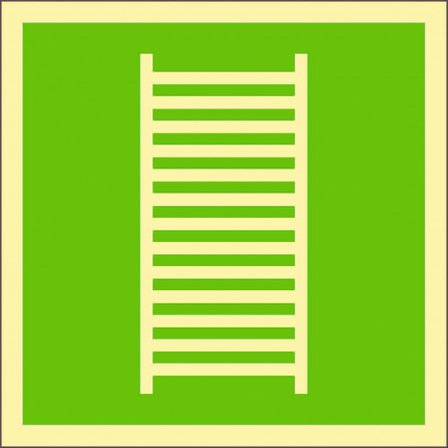 Знак ИМО Аварийная лестница