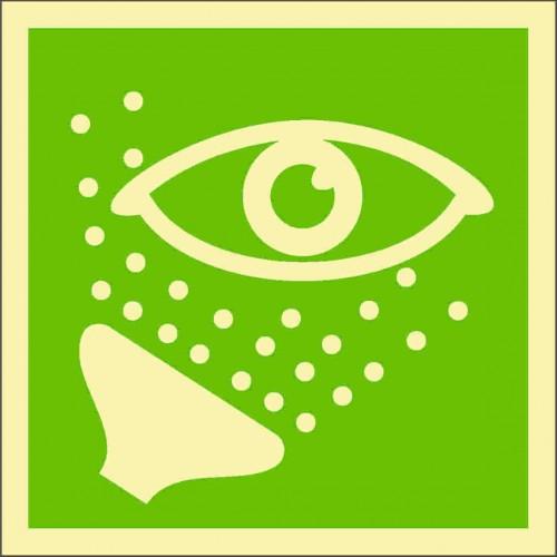 Знак ИМО Аварийная промывка глаз