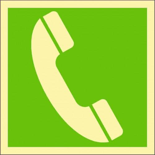 Знак ИМО Аварийный телефон
