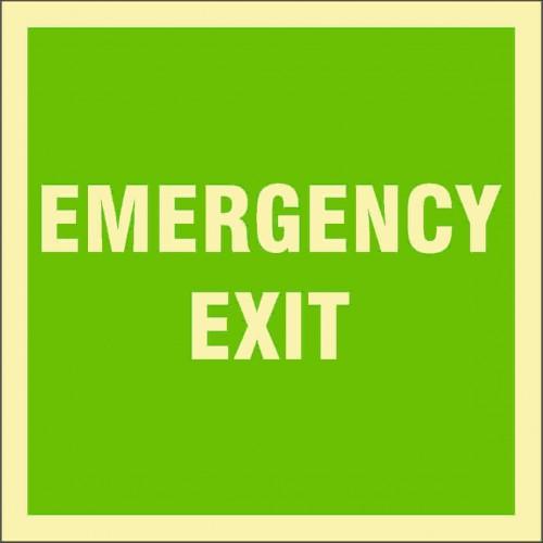 Знак ИМО Аварийный выход