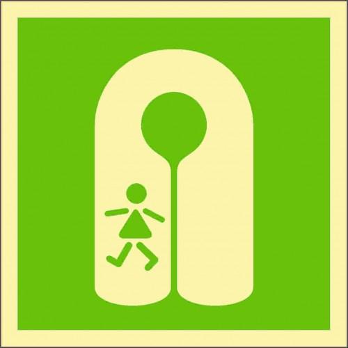Знак ИМО Детский спасательный жилет