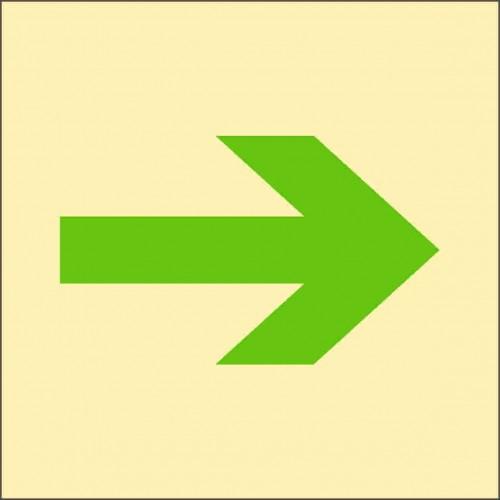 Знак ИМО Главный путь эвакуации