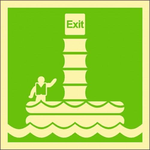 Знак ИМО Морская эвакуационная система