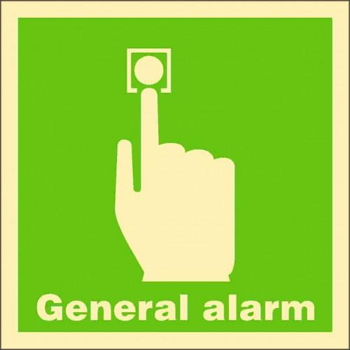 Знак ИМО Общий аварийный сигнал