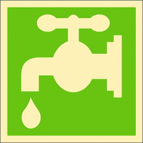 Знак ИМО Питьевая вода