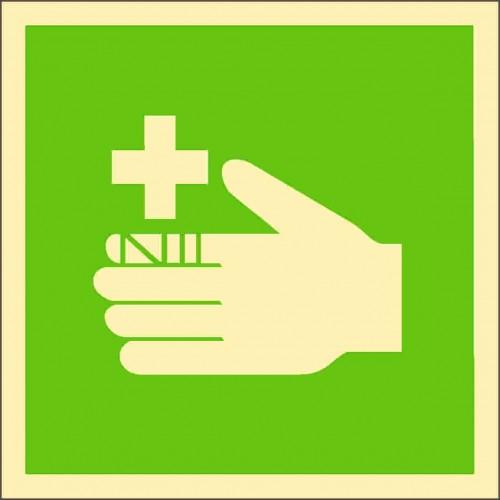 Знак ИМО Пункт оказания первой помощи