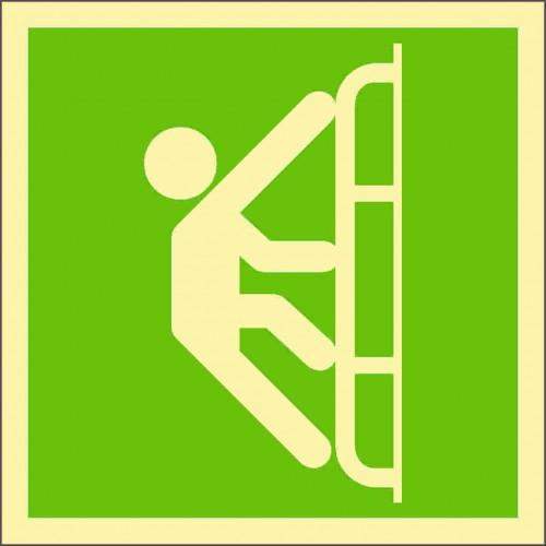 Знак ИМО Спасательная лестница