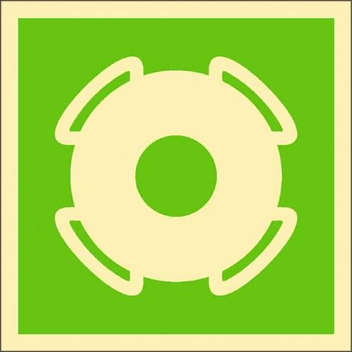 Знак ИМО Спасательный круг