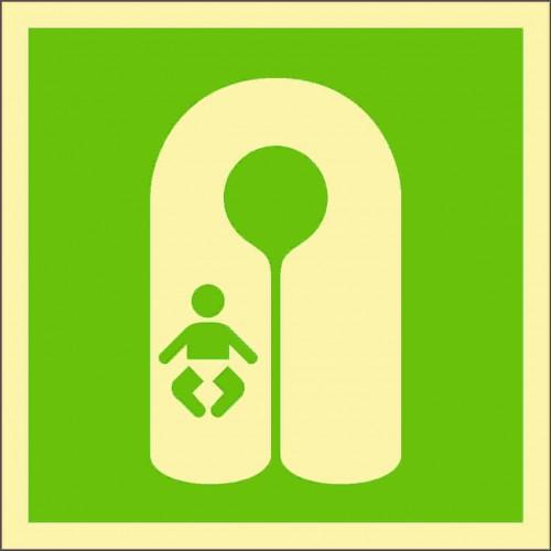 Знак ИМО Спасательный жилет для младенцев