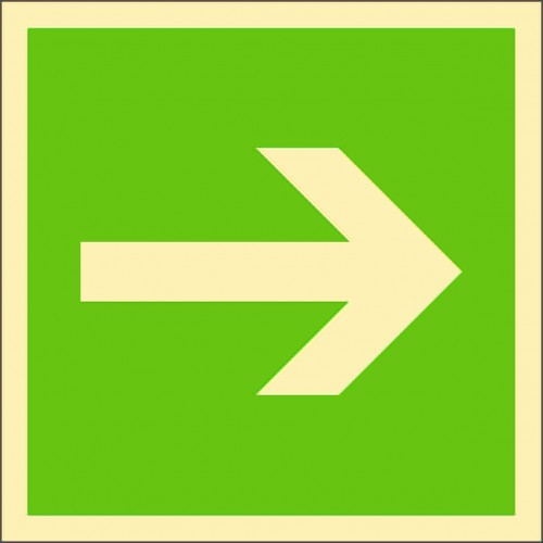Знак ИМО Указатель направления 2