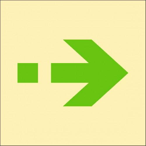 Знак ИМО Запасной путь эвакуации
